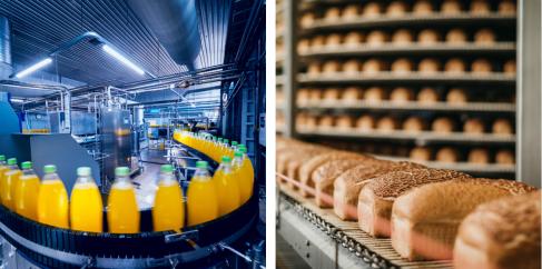食品業界における自動化ソリューション